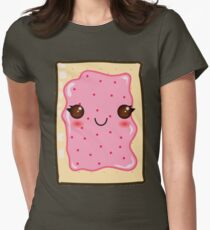 Frosted Pop Tart  Womens Fitted T-Shirt