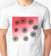 Pink flower design Unisex T-Shirt