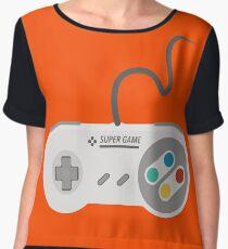 Gamepad Women's Chiffon Top
