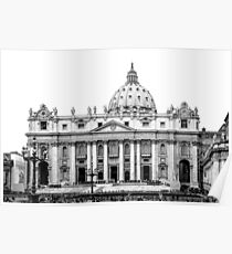 St Peter's Basilica Poster
