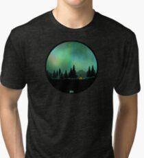 Aurora Borealis  Tri-blend T-Shirt