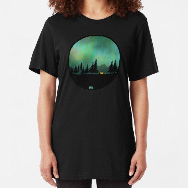 Aurora Borealis  Slim Fit T-Shirt