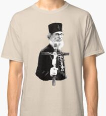 Brother Nathanael: Holding the Cross Classic T-Shirt