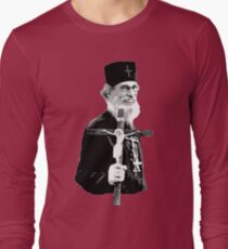 Brother Nathanael: Holding the Cross T-Shirt