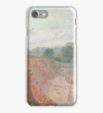Spencer Frederick Gore  The Earthworks (or The Sandpit), iPhone Case/Skin