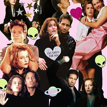 Scully and Mulder by MerrillP99