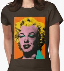 Warhol Marilyn Women's Fitted T-Shirt