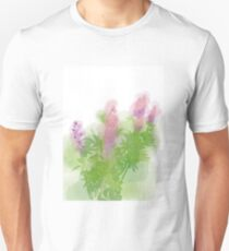 Watercolour Lupinus Unisex T-Shirt