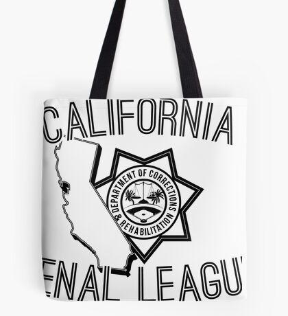 California Penal League Tote Bag