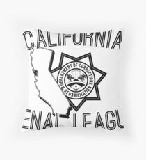 California Penal League Throw Pillow