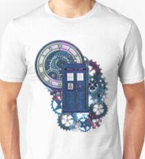 Time and Space Doctor Who inspired Art Unisex T-Shirt