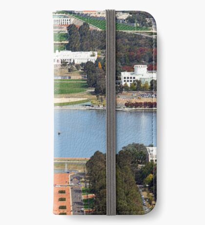 Anzac Parade - Canberra iPhone Wallet