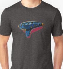 Pop Art-Inspired Ocarina  Unisex T-Shirt