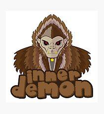 inner demon - Totto Photographic Print