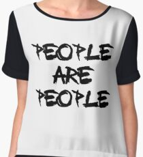 People Are People - Depeche Mode Chiffon Top