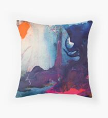 Reef Reflections IV Throw Pillow