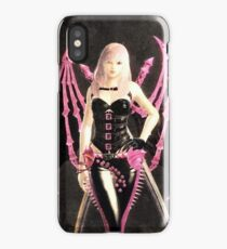 Pink batgirl iPhone Case/Skin