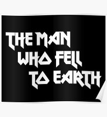 THE MAN WHO FELL TO EARTH - David Bowie Poster