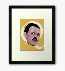 Queen Freddie Framed Print