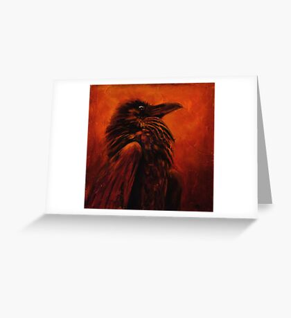 Raven Frees the Light Greeting Card
