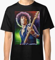 Lynott Thin Lizzy Porträtmalerei Classic T-Shirt