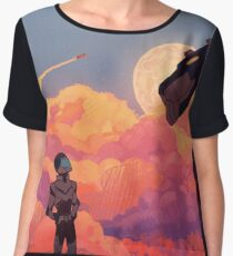 Moon Burn Women's Chiffon Top