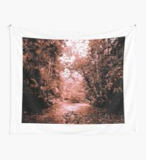 THE BRASS COLOURED CREEK Wall Tapestry