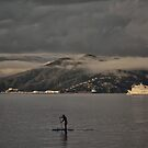 Low Clouds Over Lowry Bay by Peter Kurdulija