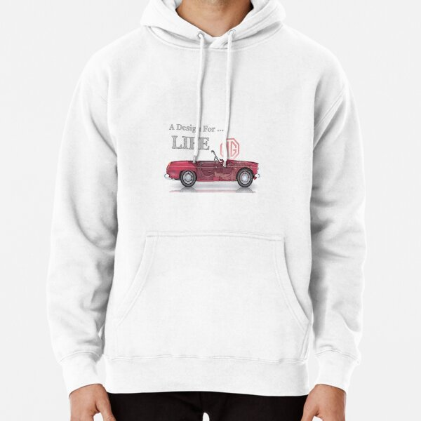 MG Design for life Pullover Hoodie