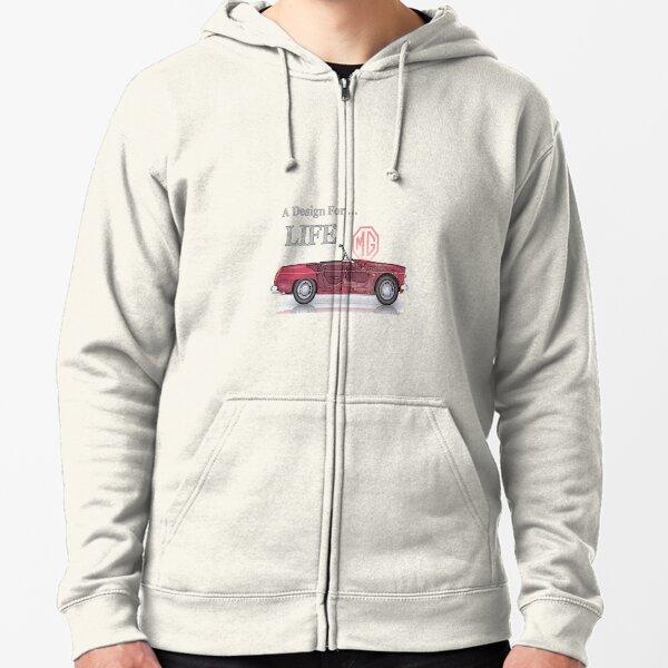 MG Design pour la vie Veste zippée à capuche