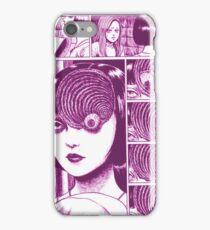 Uzumaki (Pink) iPhone Case/Skin