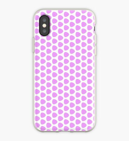 Puffy Pink Pattern iPhone Case