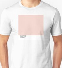 Pantone 2017 Color of the Year - Pale Dogwood Unisex T-Shirt