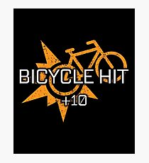 Rocket Leaugue Video Game Bicycle Hit +10 Funny Gifts Photographic Print