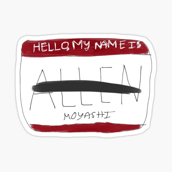 Hello, My Name is Allen Sticker