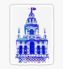 Seville - Giralda Blue Sticker