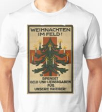 German WWI Christmas Poster Unisex T-Shirt
