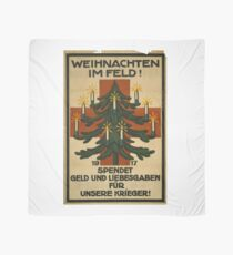 German WWI Christmas Poster Scarf