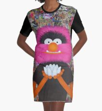 Self Portrait As Muppet Graphic T-Shirt Dress