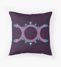 The Goddess Throw Pillow