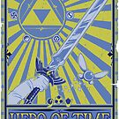 Wanted: Hero of Time by Prismic-Designs