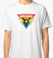 LGBT+ Safe Zone Equality Classic T-Shirt