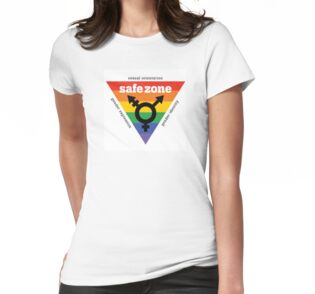 Quot Lgbt Safe Zone Equality Quot Stickers By Safetypins Redbubble