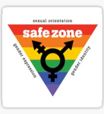 LGBT+ Safe Zone Equality Sticker