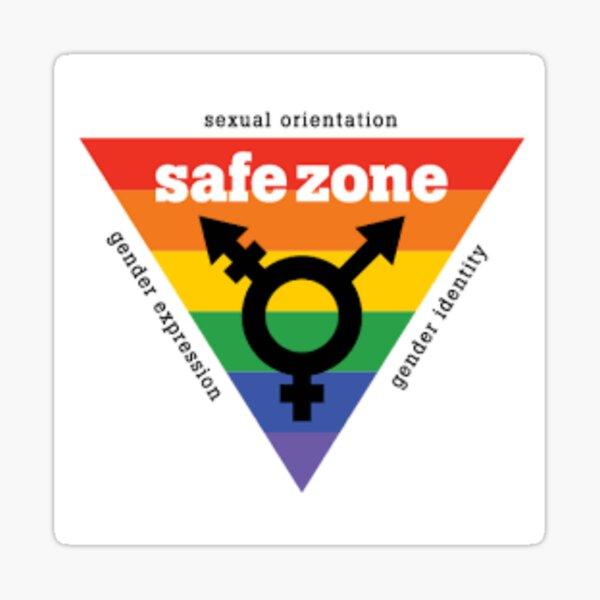 LGBT+ Safe Zone Equality Sticker
