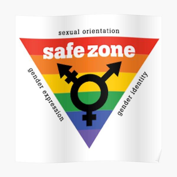LGBT+ Safe Zone Equality Poster