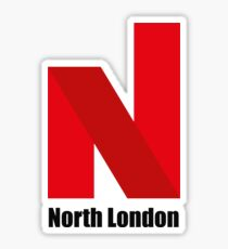 North London  Sticker