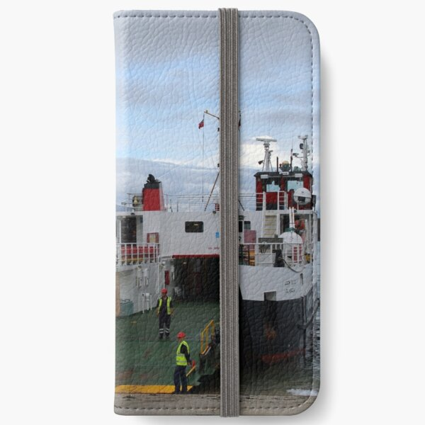 MV Loch Buie at Iona iPhone Wallet