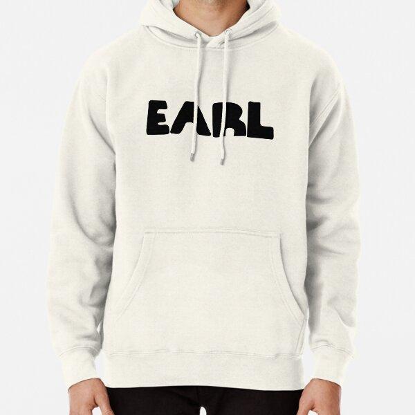 Earl Version 1 Black Ink Pullover Hoodie