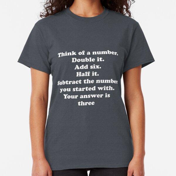 Loading Answer T-Shirt Bar Student Teacher Professor Fun Geek Nerd Scientist IT